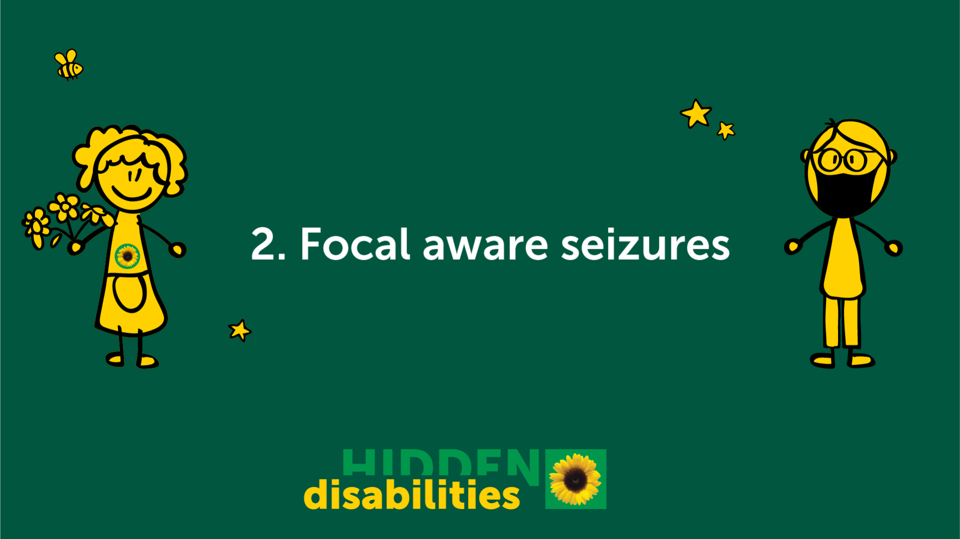 Focal aware seizures