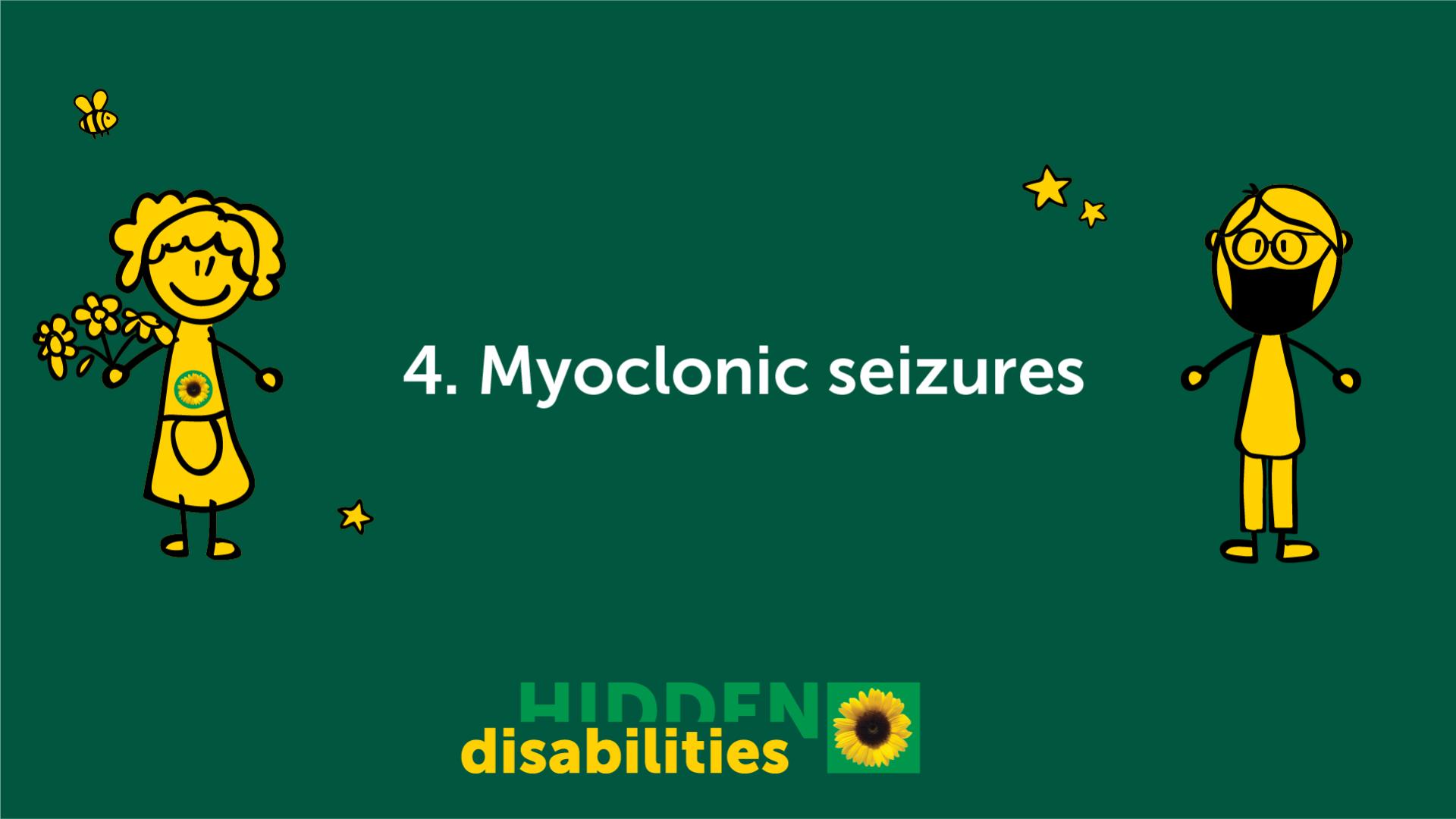 Myoclonic seizures