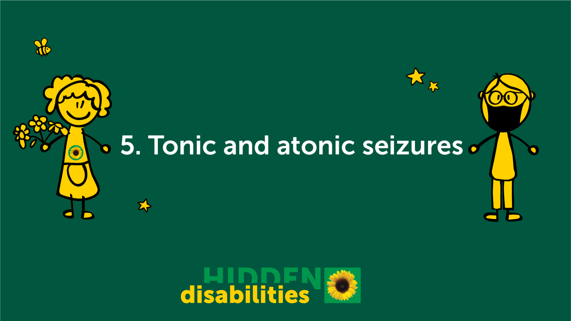 Tonic and atonic seizures