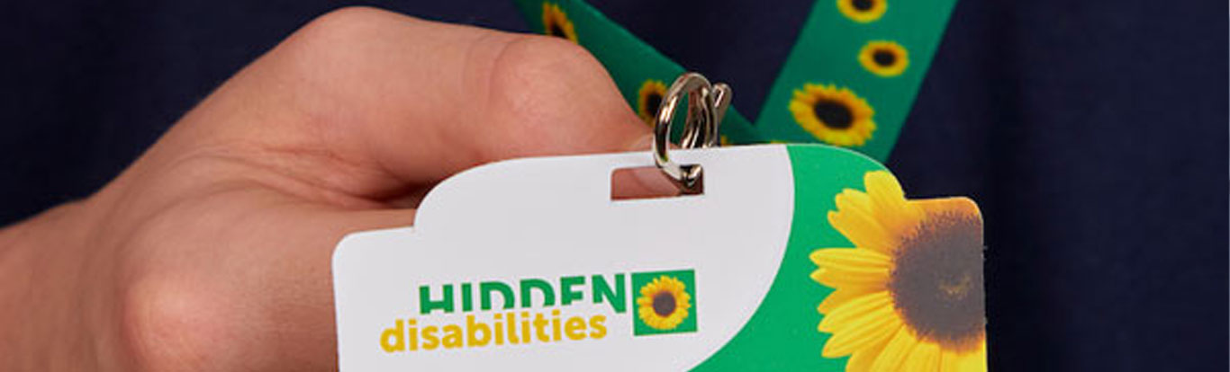 Image of lanyard and Sunflower card