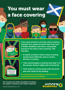 Scotland - face covering