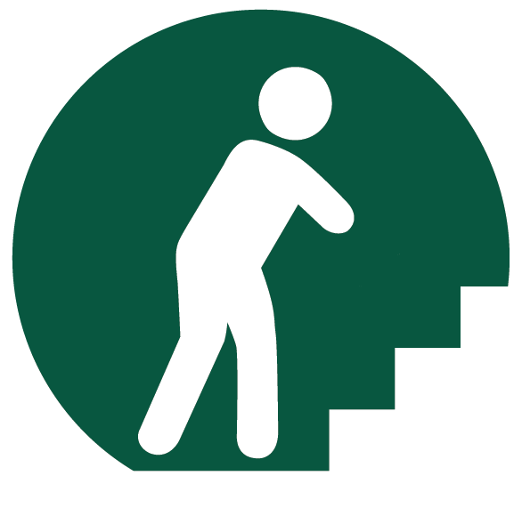 Stairs and ramps icon
