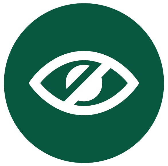 Sight loss icon
