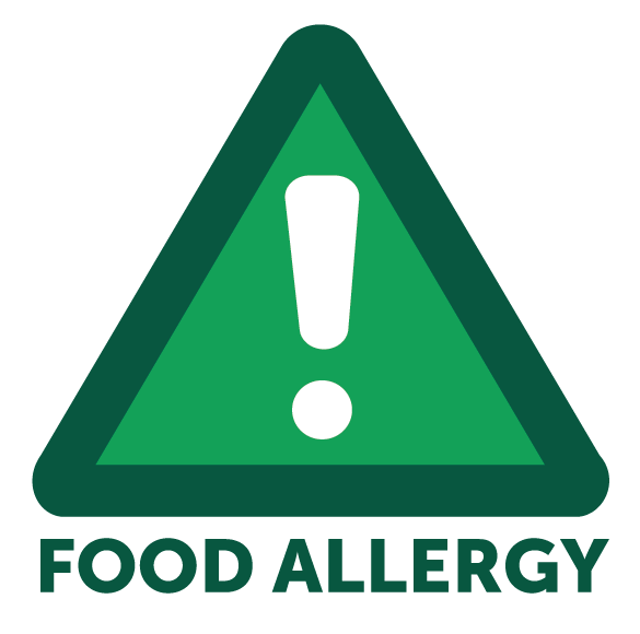 Food allergy icon