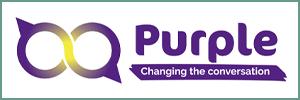 Purple logo